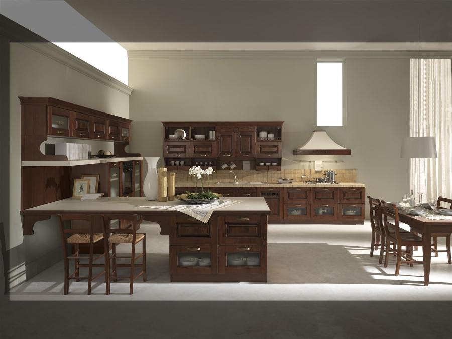 Cucine in stile classico dane mobili for Mobili stile classico moderno