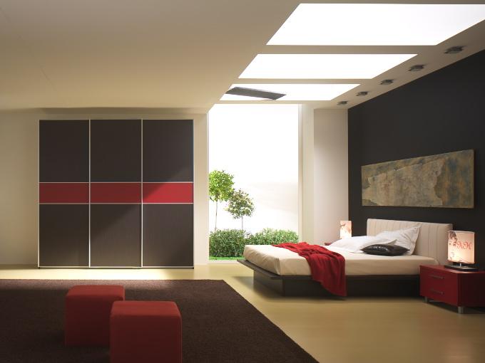 Camera Da Letto Moderna Wenge: Moderna camera da letto bianca laccata ...