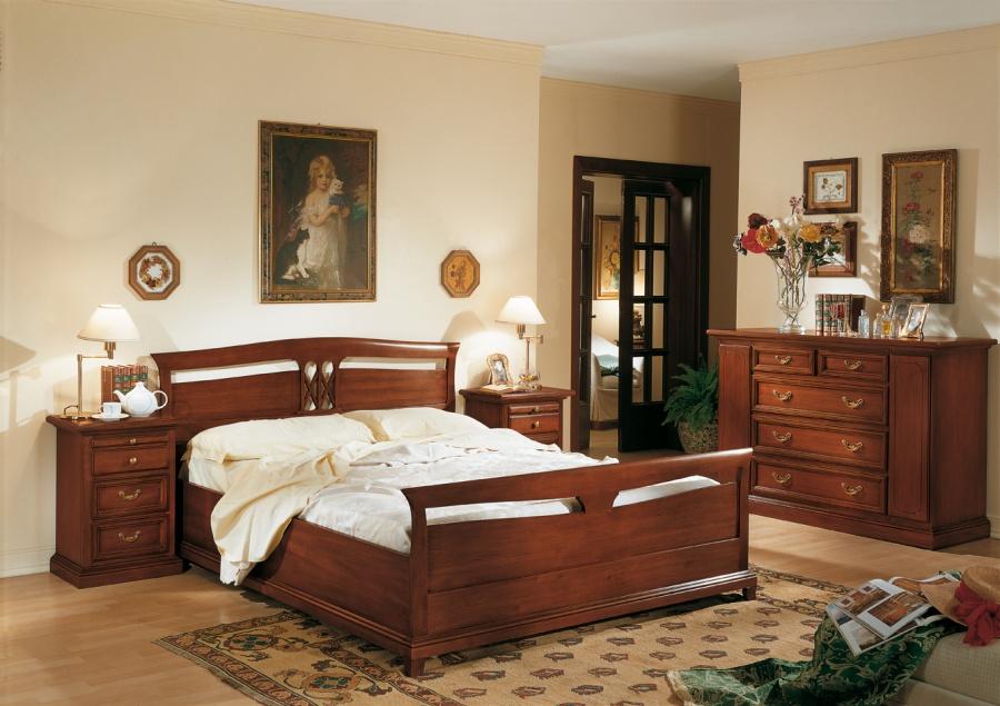 Arredamento zona notte in stile classico dane mobili for Camera da letto arte povera