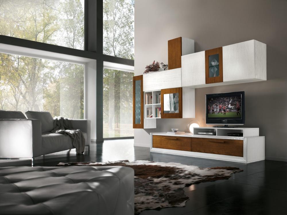 Arredamento zona giorno in stile moderno dane mobili for Arredamento zona giorno