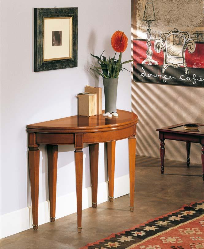 Complementi d 39 arredo in stile classico dane mobili for Consolle allungabile laccata bianca