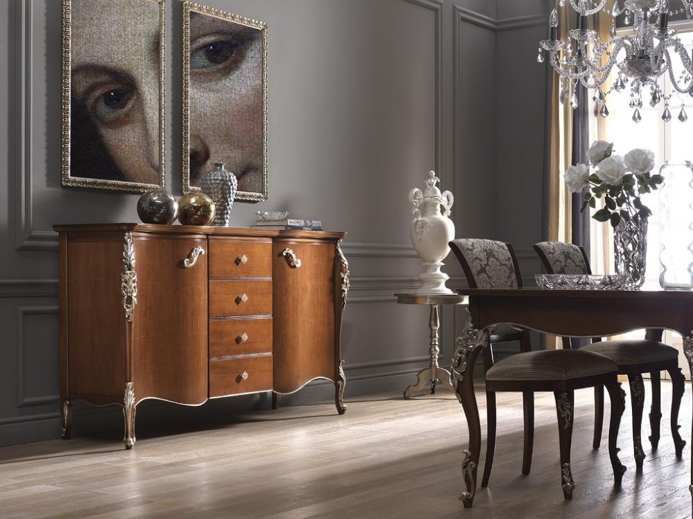 Arredamento zona giorno in stile classico   dane mobili