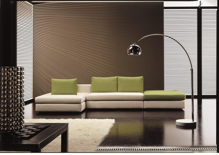 Salotti in stile moderno dane mobili for Mobili stile moderno