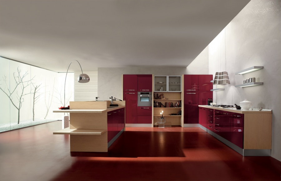 Cucine in stile moderno dane mobili for Mobili stile moderno
