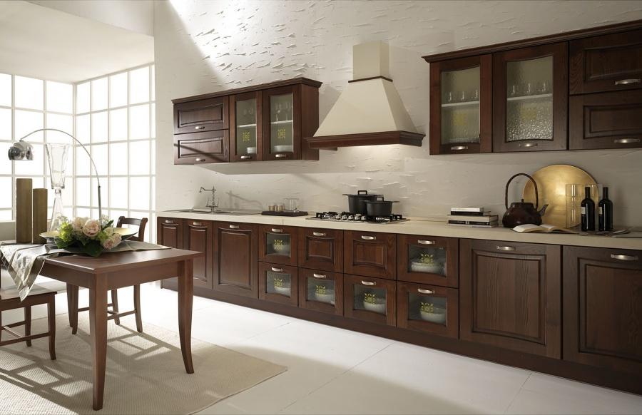 Mobili Da Cucina Noce : Cucine in stile classico dane mobili