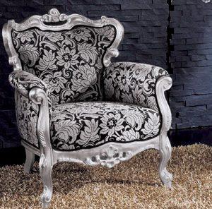 poltrone in stile barocco moderne : Salotti in stile classico - Dane mobili