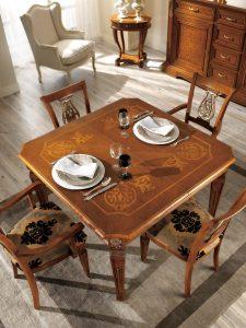 Tavoli In Stile Classico Allungabili.Tavoli E Sedie In Stile Classico Dane Mobili