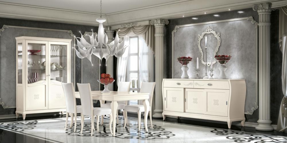 Arredamento zona giorno in stile classico dane mobili for Mobili giorno
