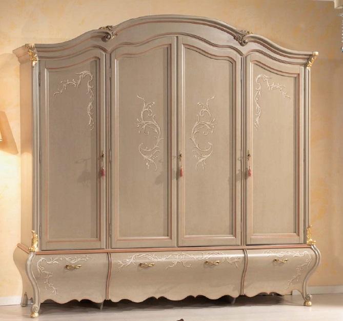 Armadi Classici In Decape.Arredamento Zona Notte In Stile Classico Dane Mobili
