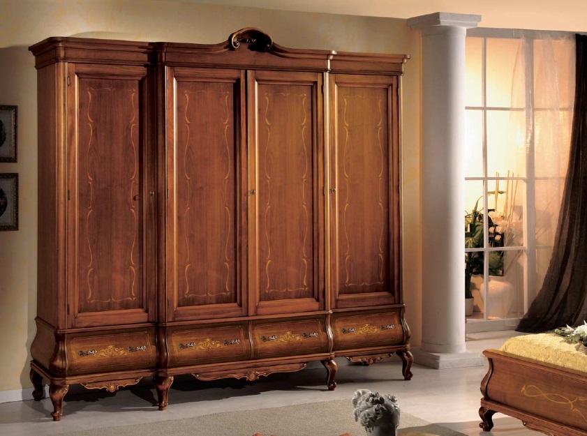 Arredamento zona notte in stile classico dane mobili - Mobili in stile ...