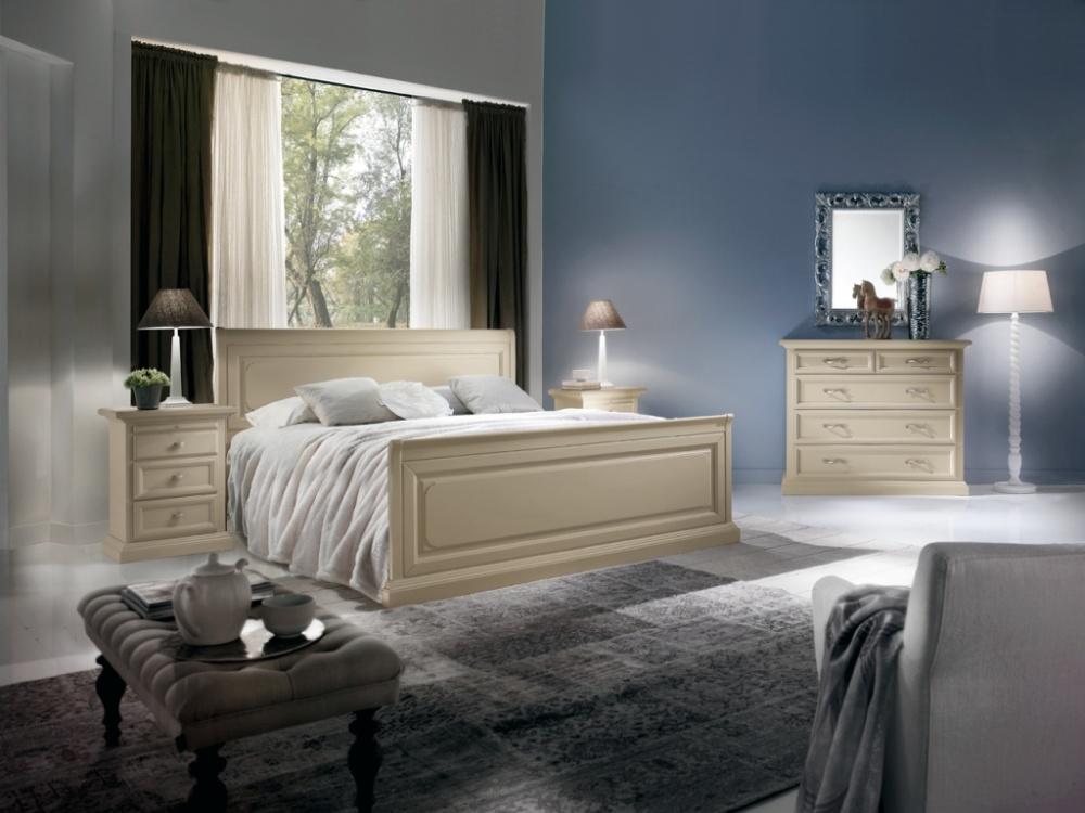 Arredamento zona notte in stile classico dane mobili - Camera da letto pianca ...