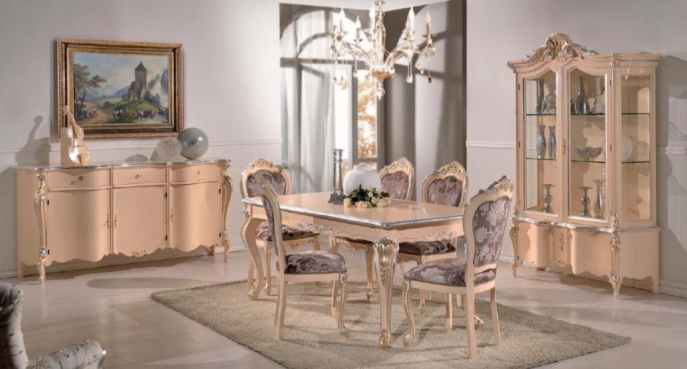 Arredamento zona giorno in stile classico dane mobili for Arredamento stile classico