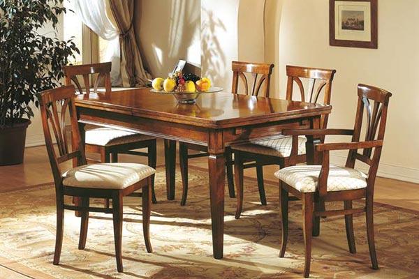 Mobili in stile classico dane mobili - Deco mobili tavoli e sedie ...