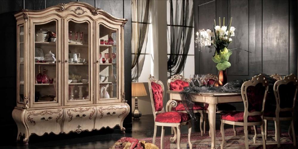 Arredamento zona giorno in stile classico dane mobili for Mobili zona giorno