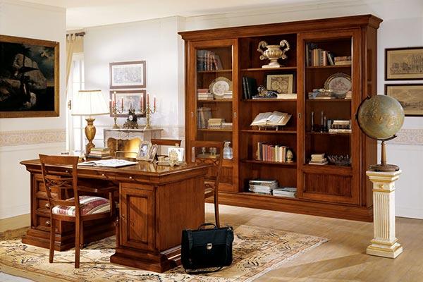 Mobili in stile classico dane mobili for Mobili per studio