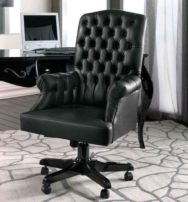 Zona studio in stile classico dane mobili for Poltrone per studio