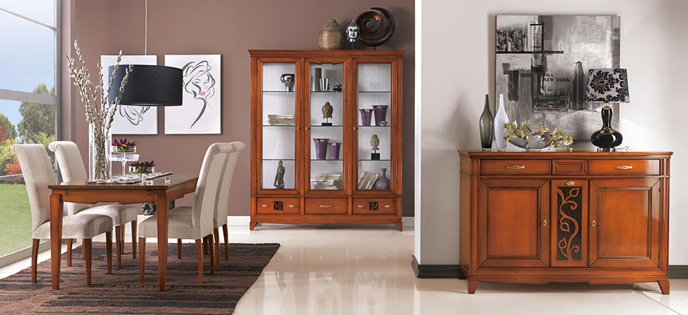 sala-da-pranzo-classica - Dane mobili