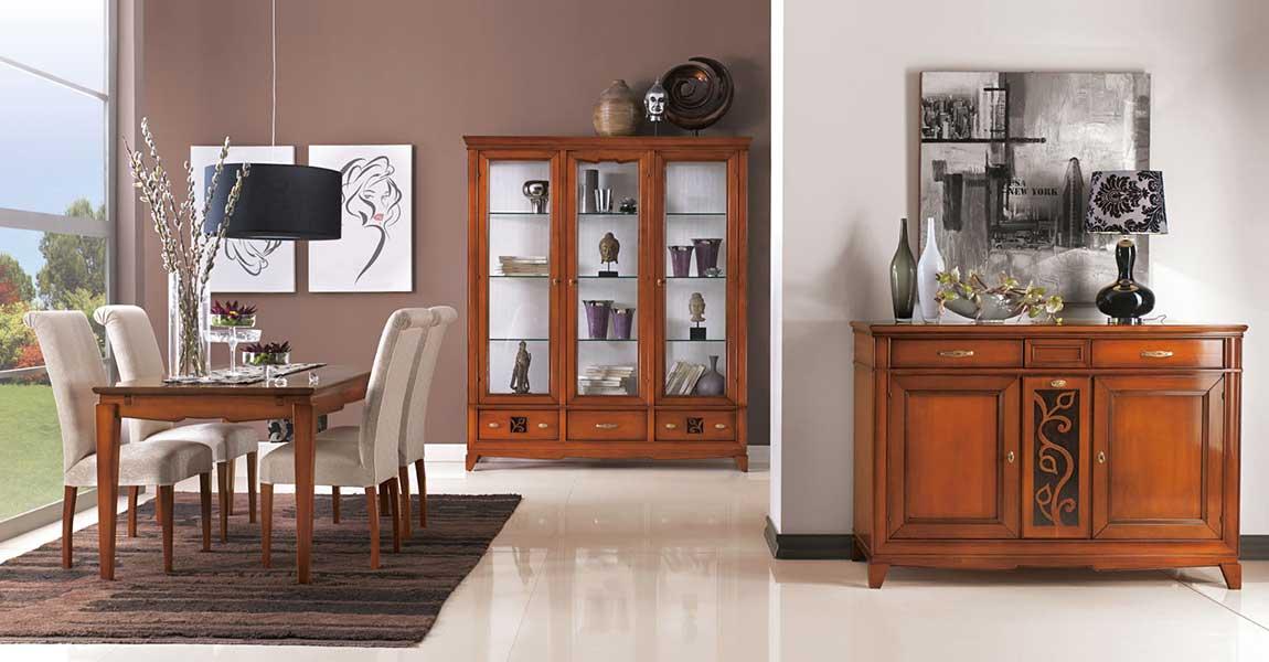 Arredamenti classici e moderni mobili su misura dane mobili for Sedie imbottite per sala da pranzo
