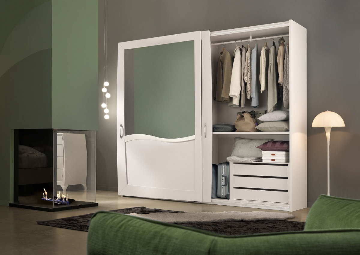 Arredamento zona notte in stile moderno dane mobili - Mobili stile moderno ...