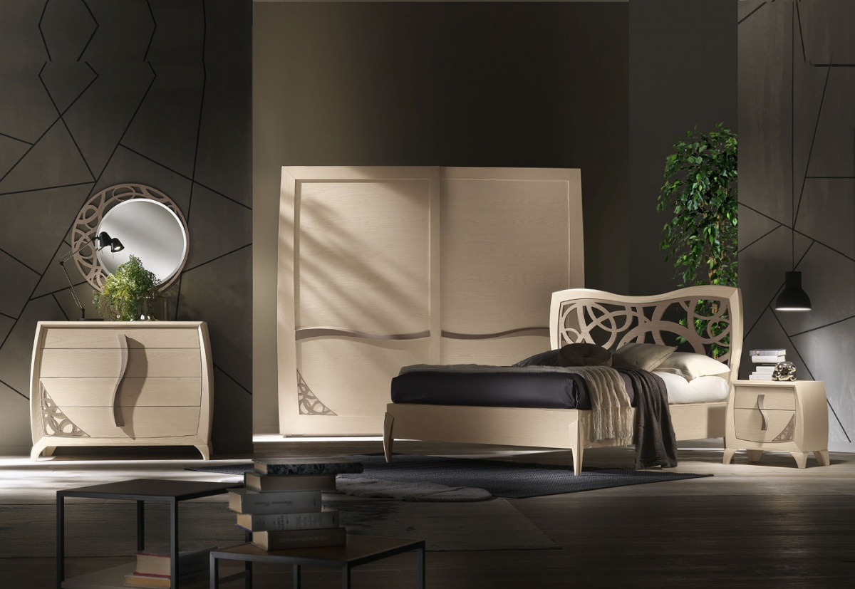 Arredamento Notte Moderno.Arredamento Zona Notte In Stile Moderno Dane Mobili