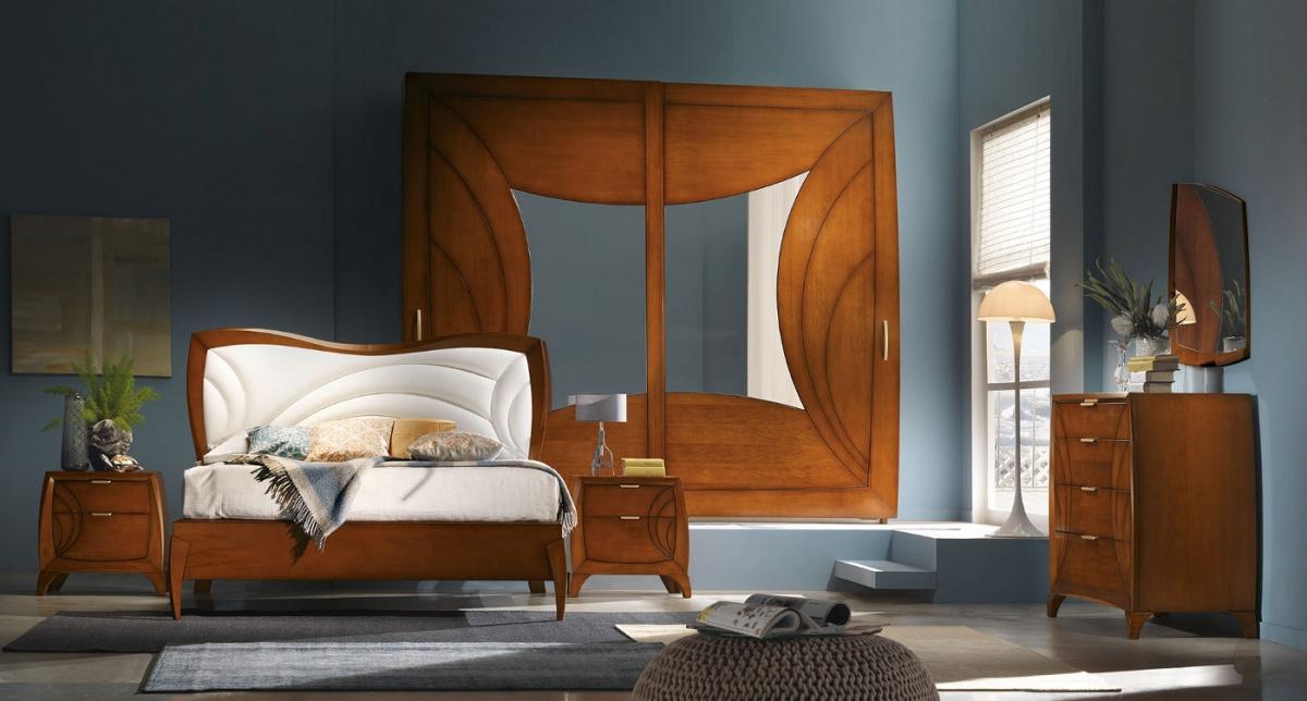 Arredamento zona notte in stile moderno dane mobili for Arredamento stile moderno