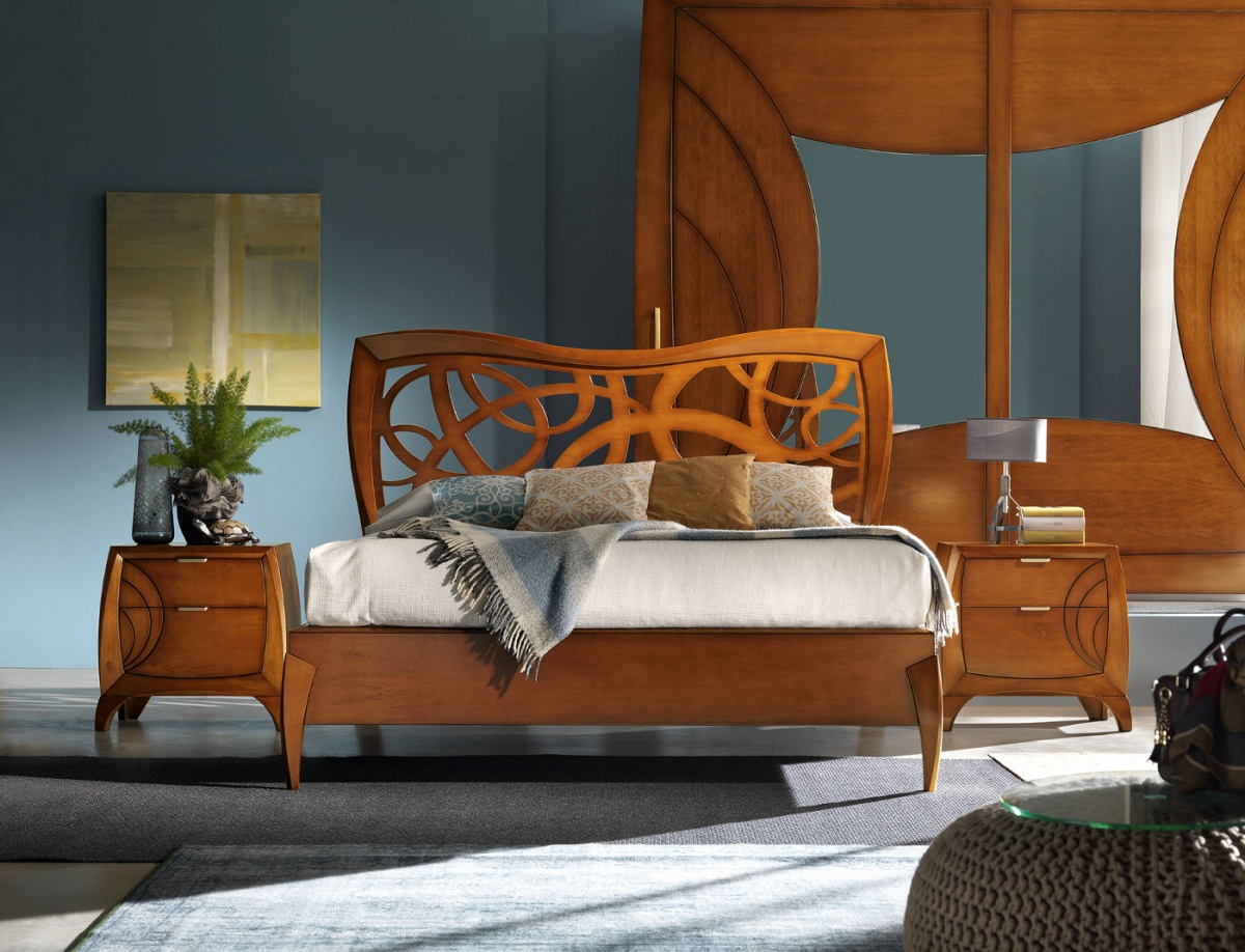 Arredamento zona notte in stile moderno dane mobili for Zona notte arredamento