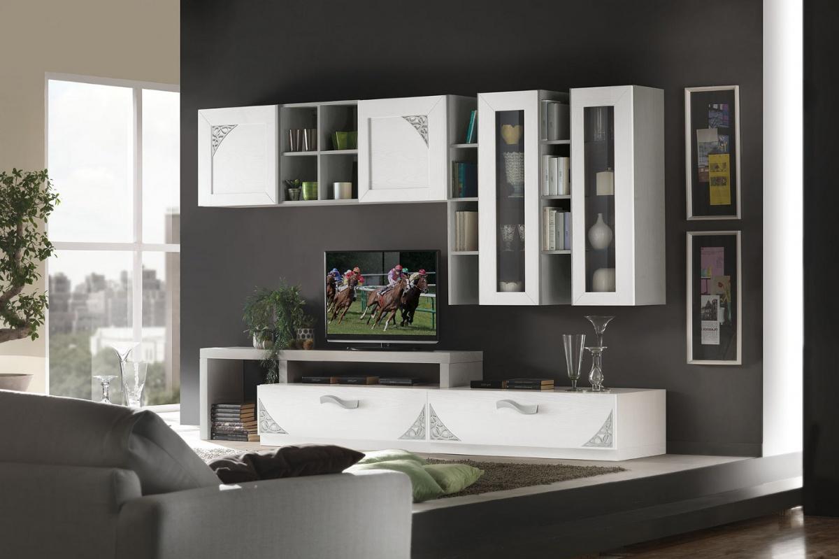 Arredamento zona giorno in stile moderno dane mobili - Mobili stile moderno ...