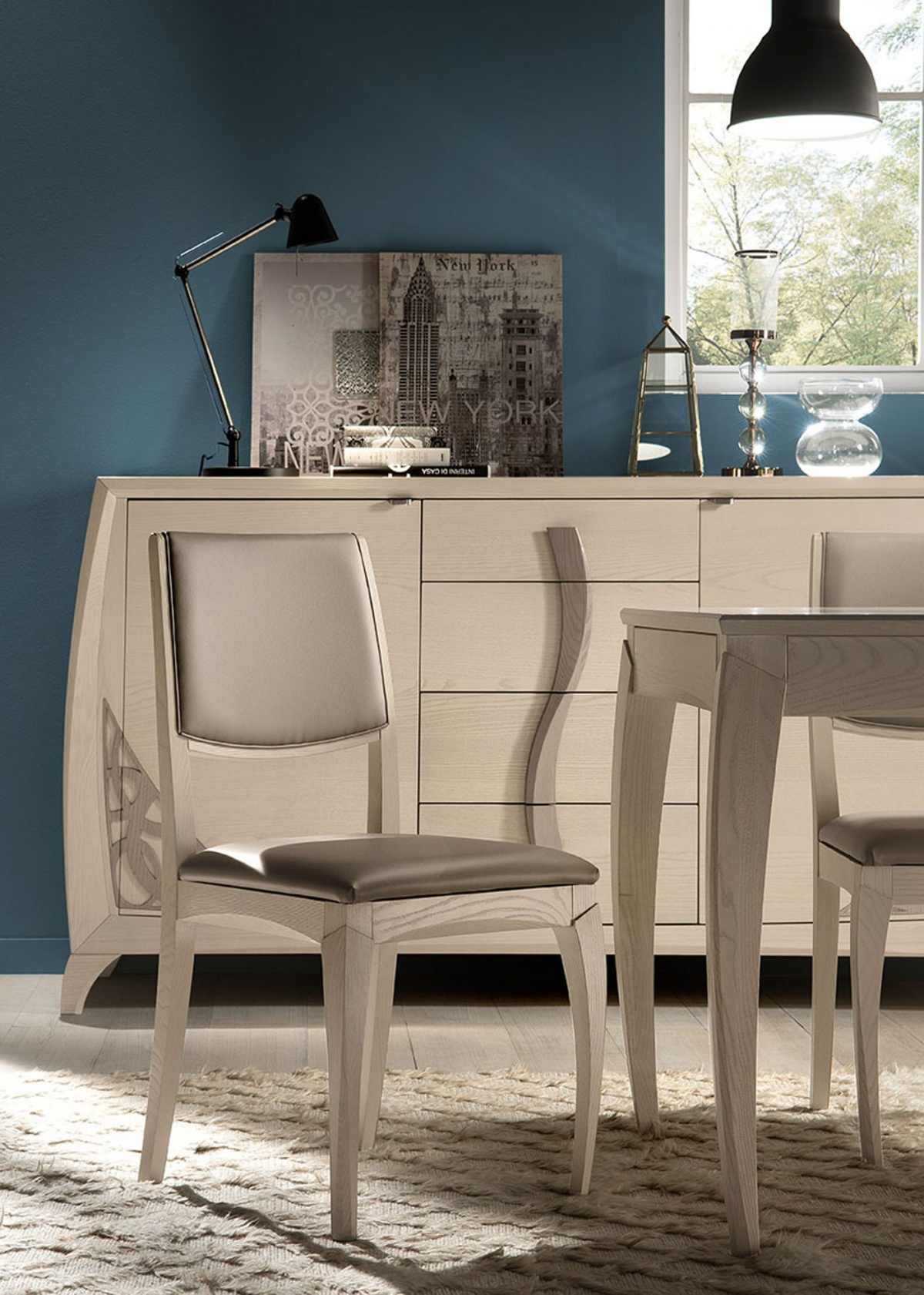 Tavoli e sedie in stile moderno dane mobili - Deco mobili tavoli e sedie ...