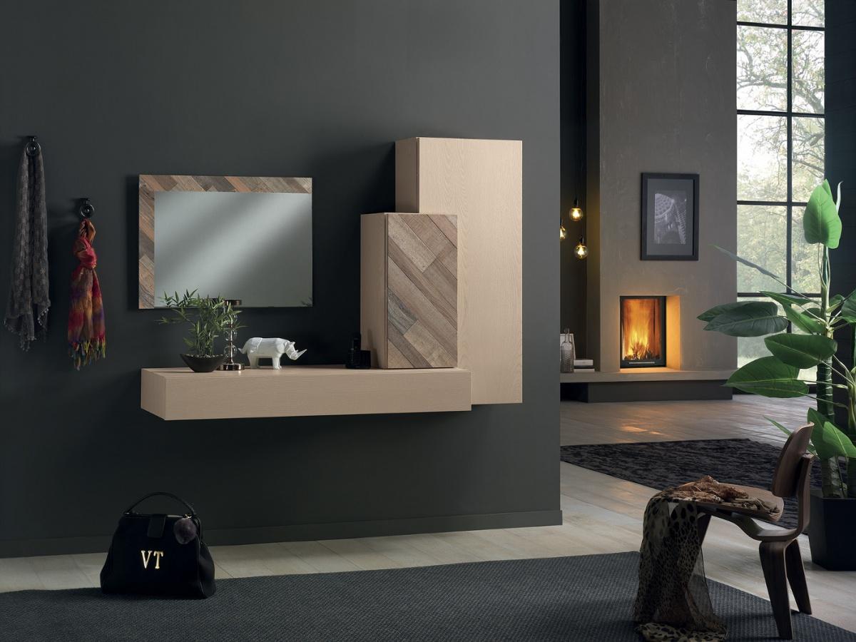 Arredamento zona giorno in stile moderno dane mobili for Stile moderno arredamento